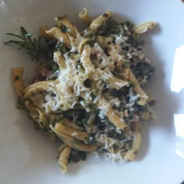 E' tempo di broccolo fiolaro! E di una buona pasta all'amaranto!