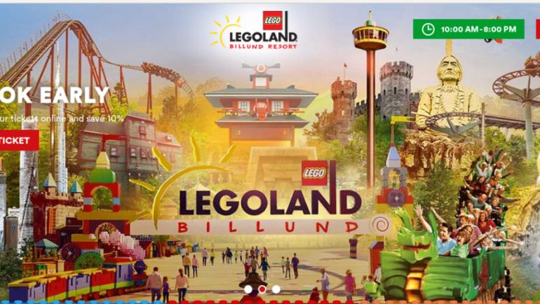 Legoland denmark maggio 2017