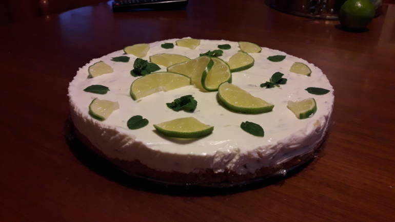 Estate torrida? Mojito cheesecake!