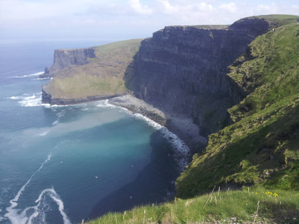 Veduta delle Cliffs of Moher