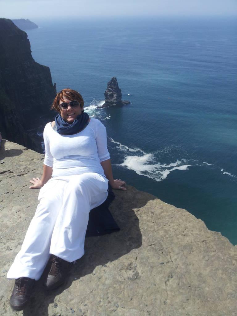 io e le Cliffs of Moher
