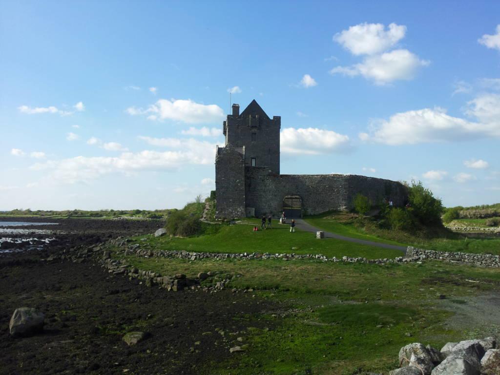dunguaire castle entrata