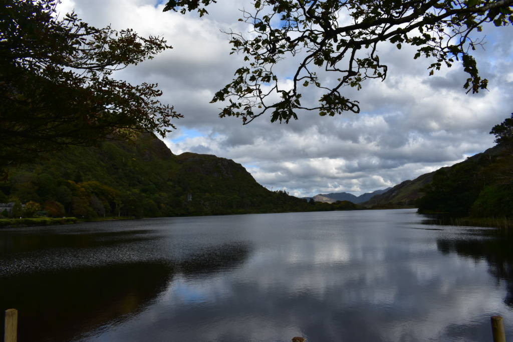 kylemore abbey view