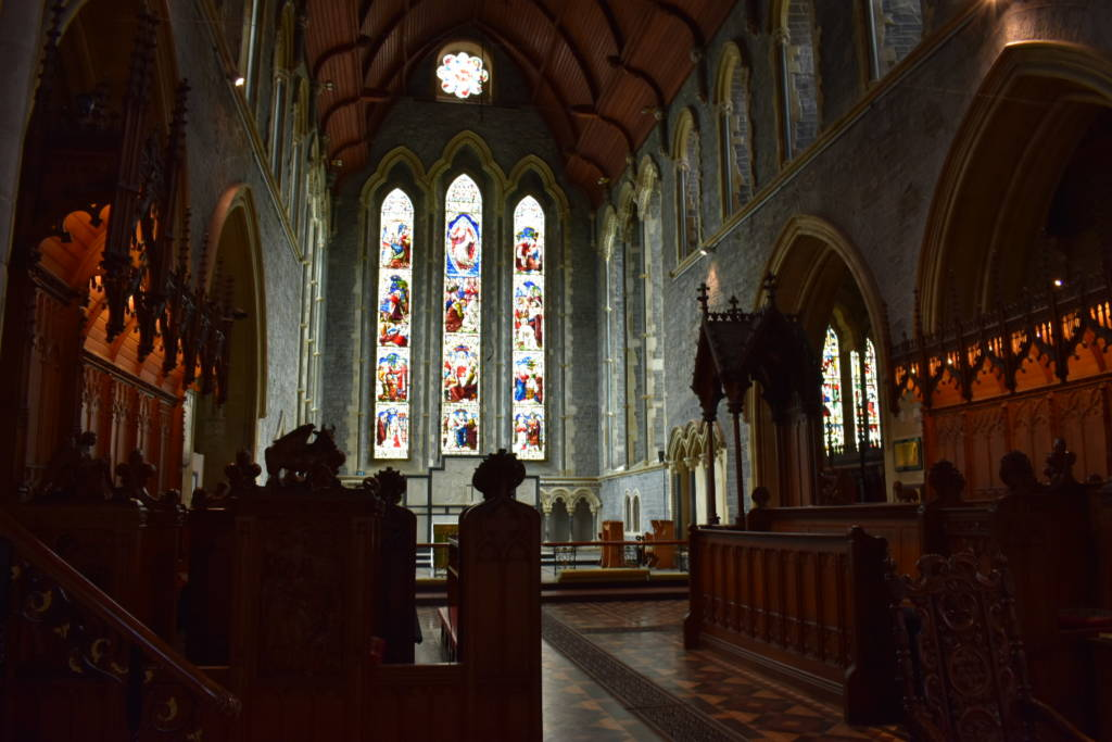 st canice cathedral kilkenny coro