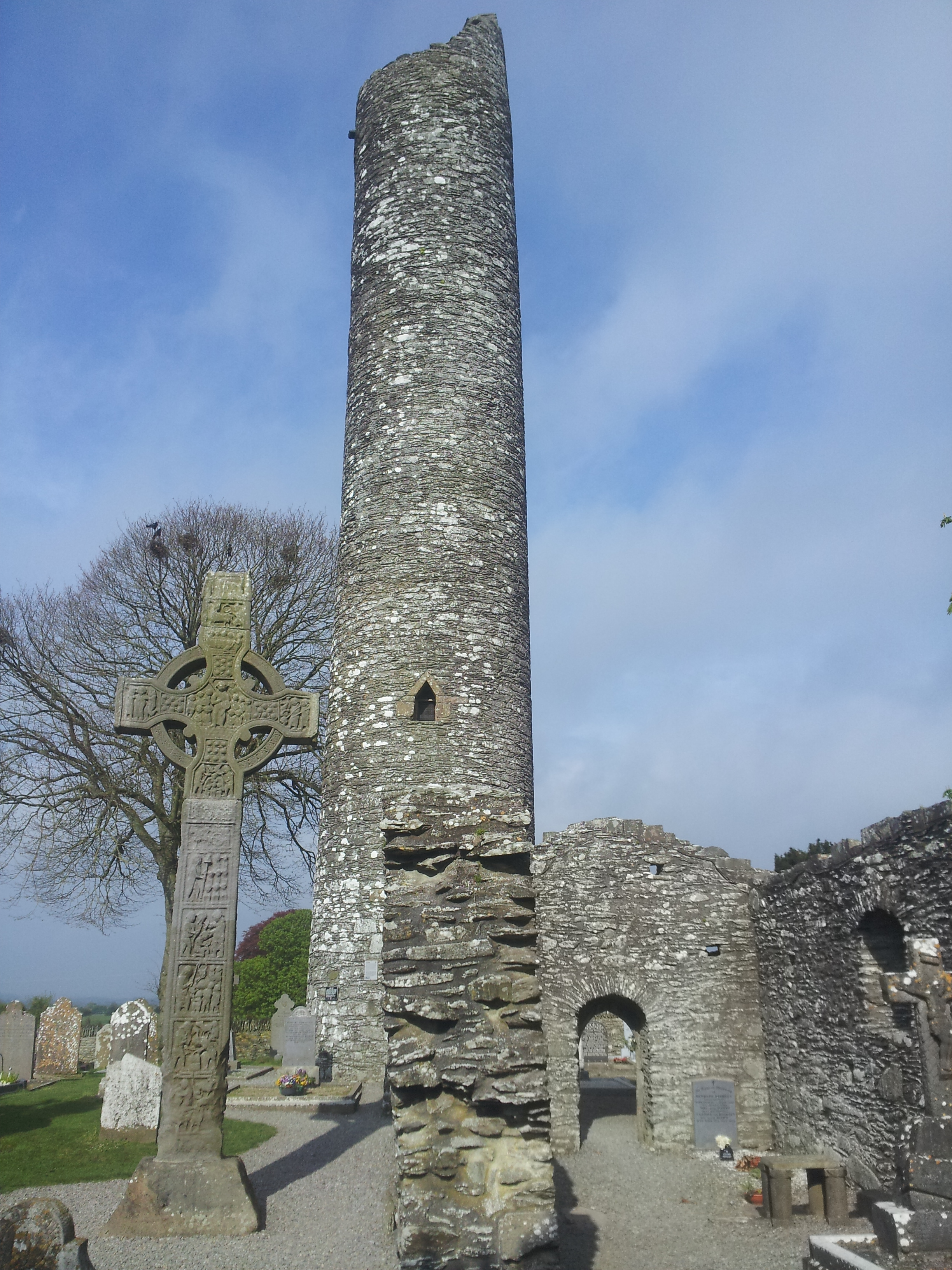 torre rotonda Monasterboice