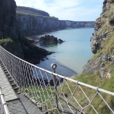 Carrick-a-rede Rope Bridge: a spasso sul mare d'Irlanda