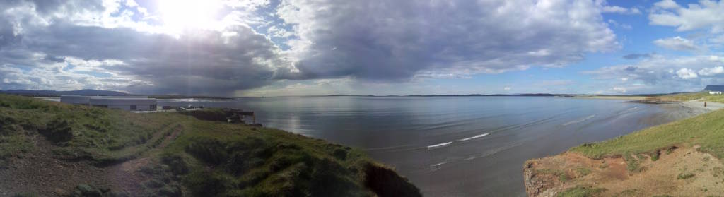 Rosses point panoramica